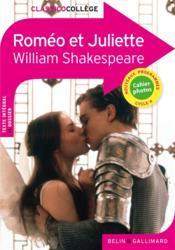 Romeo et Juliette - Couverture - Format classique