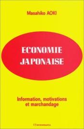 Economie japonaise - Couverture - Format classique