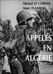 Appeles En Algerie - Couverture - Format classique