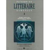 PATRIMOINE LITTERAIRE EUROPEEN N.5 ; premières mutations : de Pétrarque à Chaucer (1304 - 1400) - Couverture - Format classique