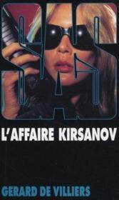 SAS t.80 ; l'affaire Kirsanov - Couverture - Format classique