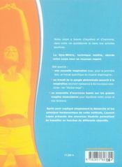Gym-métric ; la nouvelle approche de votre équilibre corporel - 4ème de couverture - Format classique