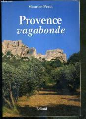 Provence vagabonde - Couverture - Format classique