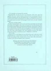 Turbulences - 4ème de couverture - Format classique
