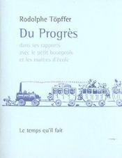 Du Progres Dans Ses Rapports - Intérieur - Format classique