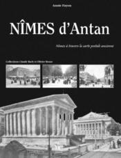Nîmes d'antan - Couverture - Format classique