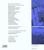 Revue Transeuropeennes T.19-20 ; Pays Divises Villes Separees - 4ème de couverture - Format classique