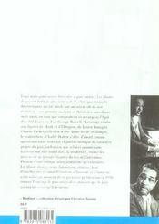 Les mondes du jazz - 4ème de couverture - Format classique