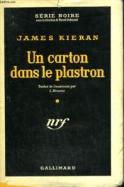 Un Carton Dans Le Plastron. ( Come Murder Me ). Collection : Serie Noire Avec Jaquette N° 349 - Couverture - Format classique