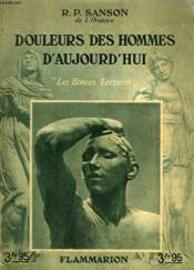 Douleurs Des Hommes D'Aujourd'Hui. Collection : Les Bonnes Lectures. - Couverture - Format classique