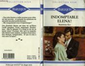 Indomptable Elena - Judgment - Couverture - Format classique