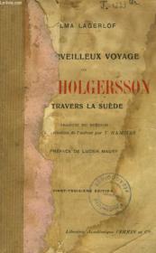 Le Merveilleux Voyage De Nils Holgersson A Travers La Suede. - Couverture - Format classique