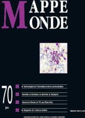 Revue mappemonde t.70 - Couverture - Format classique