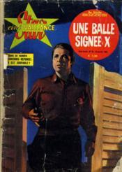 Star Cine Vaillance - Une Balle Signee X - 3eme Annee - N°34 - Couverture - Format classique