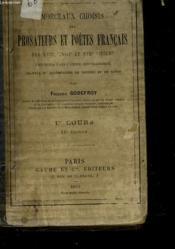 Morceaux Choisis Des Prosateurs Et Poetes Francais Des Xvii°, Xviii° Et Xix° Siecles - Couverture - Format classique
