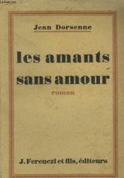 Les Amants Sans Amour - Couverture - Format classique