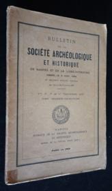 Bulletin de la Société Archéologique et Historique de Nantes et de la Loire-Inférieure (1938) - Couverture - Format classique