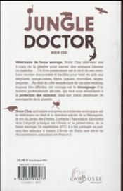 Jungle doctor - 4ème de couverture - Format classique