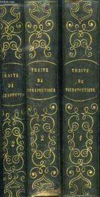 TRAITE DE THERAPEUTIQUE ET DE MATIERE MEDICALE / EN 3 VOLUMES : TOMES 1 + 2 ( 1 ere et 2 eme partie) - Couverture - Format classique