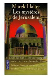 Les mysteres de jerusalem - Couverture - Format classique
