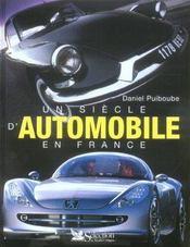 Un siecle d'automobile en france - Intérieur - Format classique