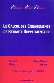 Calcul Des Engagements De Retraite Supplementaire - Intérieur - Format classique