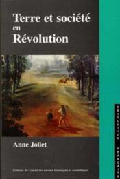 Terre et société dans la region d'Amboise - Couverture - Format classique