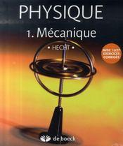 Physique t.1 ; mécanique - Intérieur - Format classique