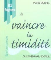 81 Facons De Vaincre La Timidite - Intérieur - Format classique
