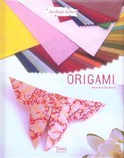 Origami - Intérieur - Format classique