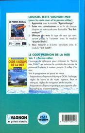 Livre Test Mer - 4ème de couverture - Format classique