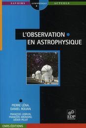 L'observation en astrophysique - Intérieur - Format classique