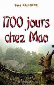 1700 Jours Chez Mao - Couverture - Format classique