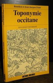 Toponymie occitane - Couverture - Format classique