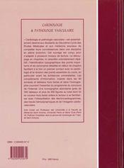 Cardiologie et pathologie vasculaire - 4ème de couverture - Format classique