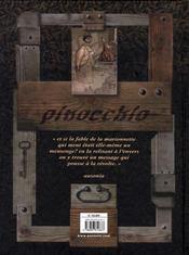 Pinocchio ; histoire d'un enfant - 4ème de couverture - Format classique