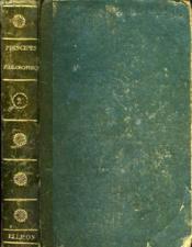 Principes Philosophiques, Politiques Et Moraux, Tome Ii - Couverture - Format classique