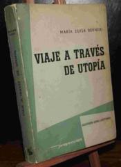 Viaje A Traves De Utopía - Couverture - Format classique