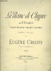 La Reine De Chypre - Couverture - Format classique