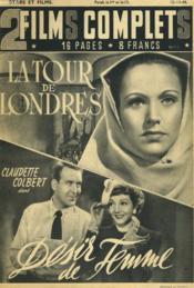 2 Films Complets N°14 - La Tour De Londres Et Desir De Femme - Couverture - Format classique