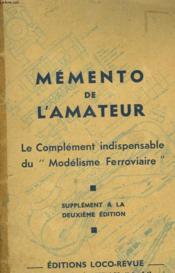 Memento De L'Amateur - Couverture - Format classique