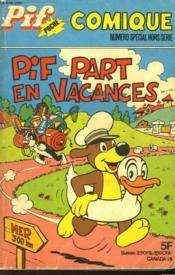 Pif Poche - Comique - Pif Part En Vacances - Couverture - Format classique