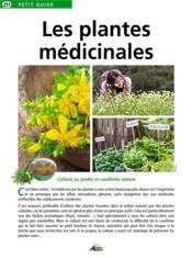 Plantes médicinales - Couverture - Format classique