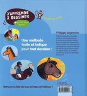 J'apprends à dessiner ; les chevaux et les poneys - Couverture - Format classique