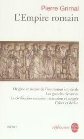 L'Empire romain - Intérieur - Format classique