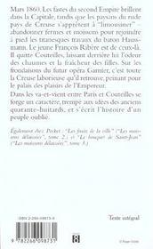 Les Moissons Delaissees - 4ème de couverture - Format classique