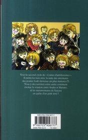 Contes d'adolescence, cycle 2 t.3 - 4ème de couverture - Format classique