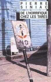 De L'Horrifique Chez Les Tares - Intérieur - Format classique