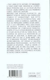 De L'Horrifique Chez Les Tares - 4ème de couverture - Format classique