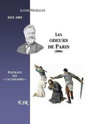 Les Odeurs De Paris - Couverture - Format classique